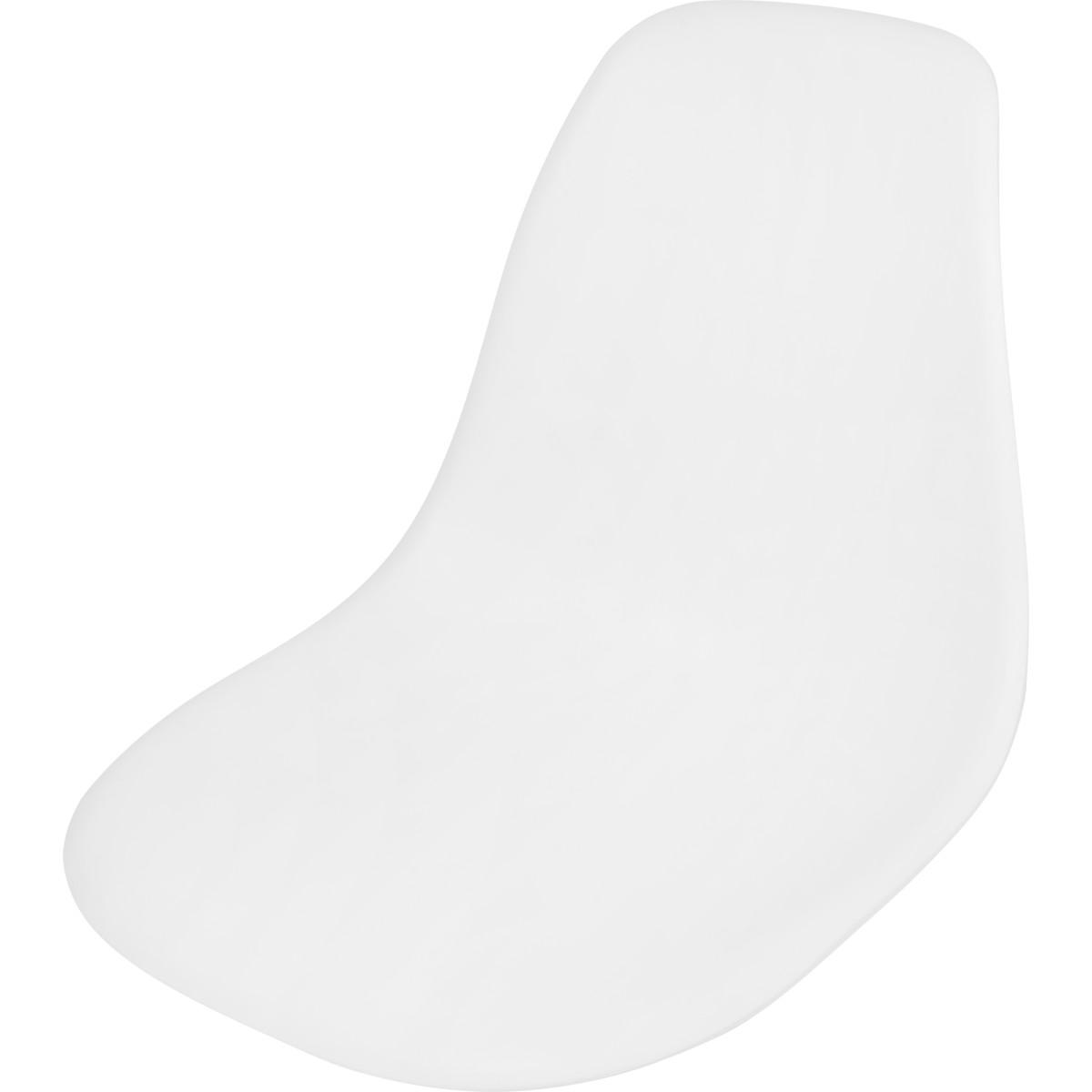 Сиденье Sheffilton SHT-ST6 цвет белый