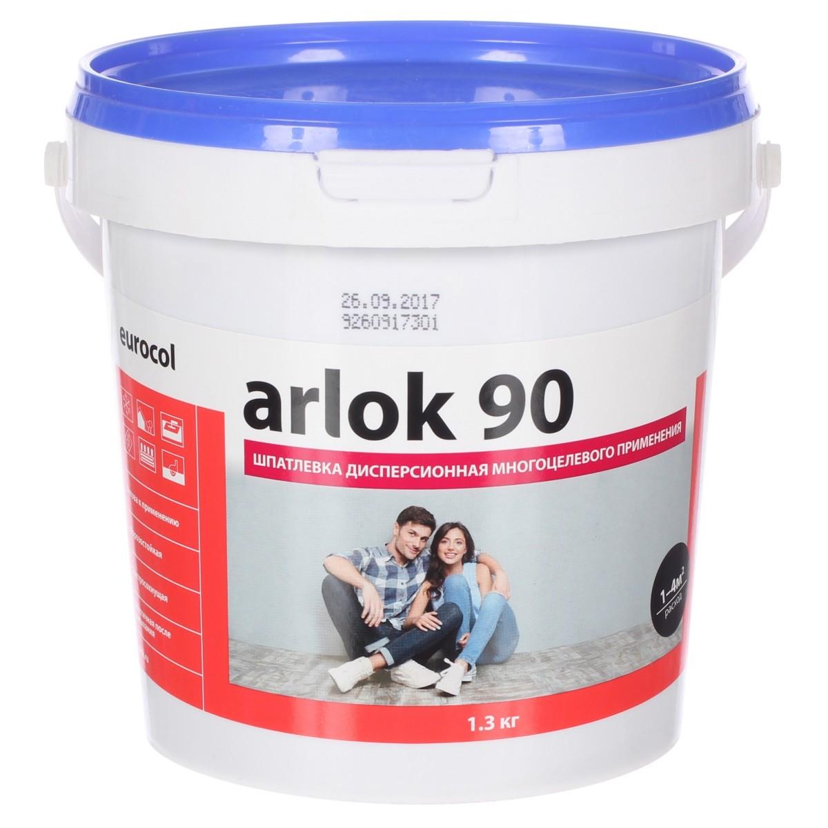 Шпаклевка водно-дисперсионная 1.3 кг