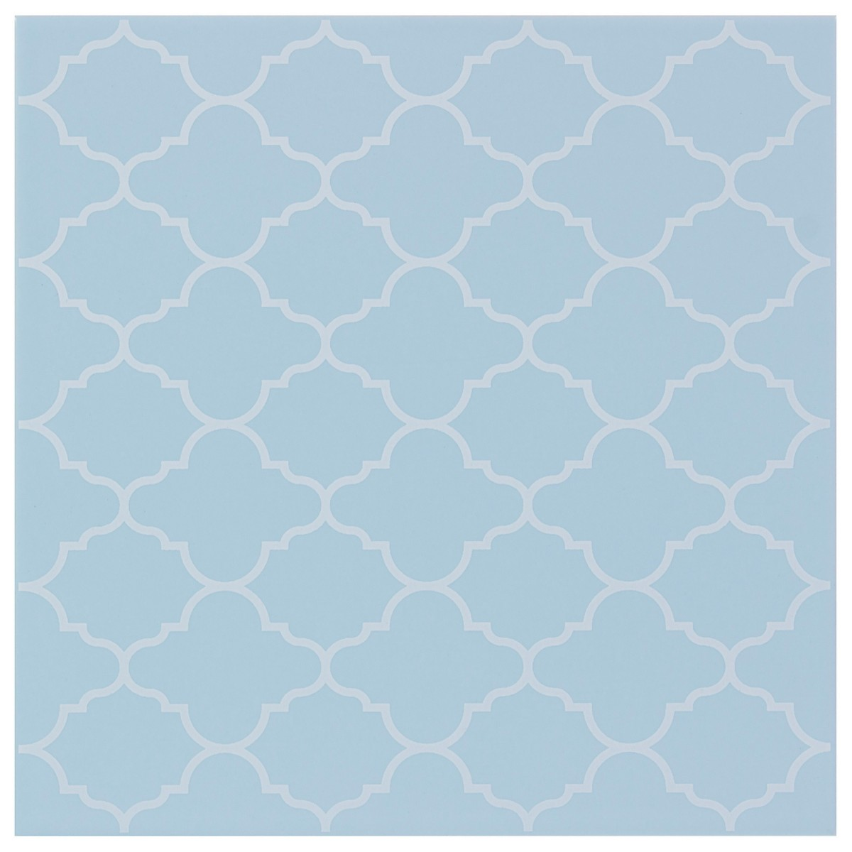 Декор «Калейдоскоп» 20х20 см цвет голубой
