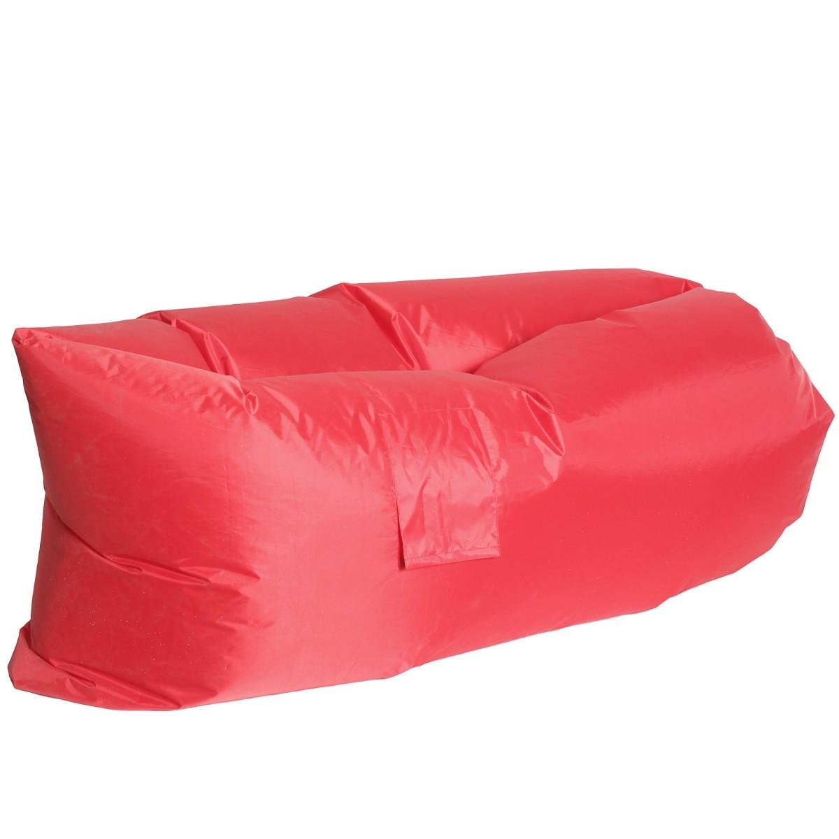Диван надувной «Long» 220x70 см цвет красный