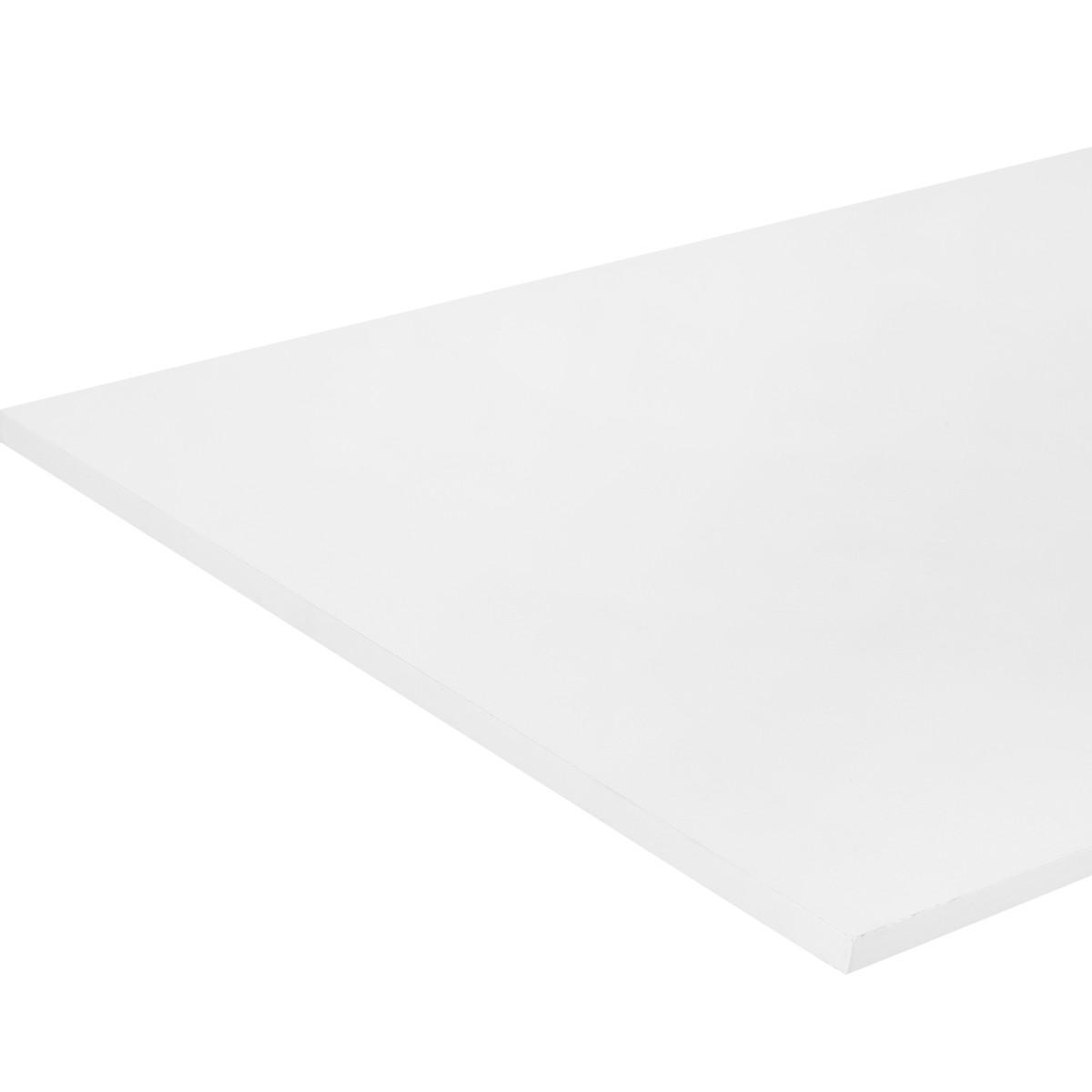 Деталь мебельная 2000x600x16 мм ЛДСП цвет белый премиум