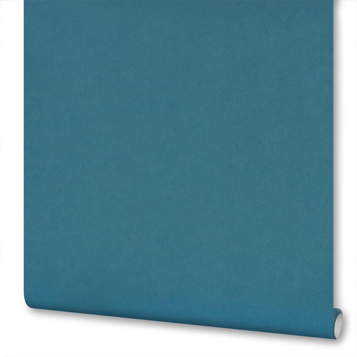 Обои на флизелиновой основе Inspire Silk 1.06х10 м Эффект шелка цвет синий