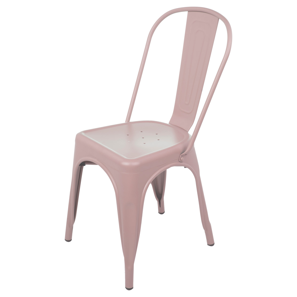 Стул садовый Soho 440x840x534 мм металл цвет розовый