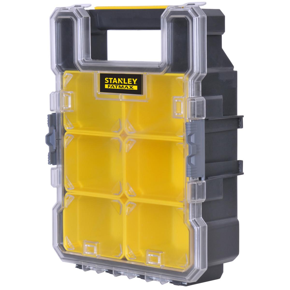Органайзер Fatmax малый для мелочей 11х26х3.5 см цвет черный/желтый