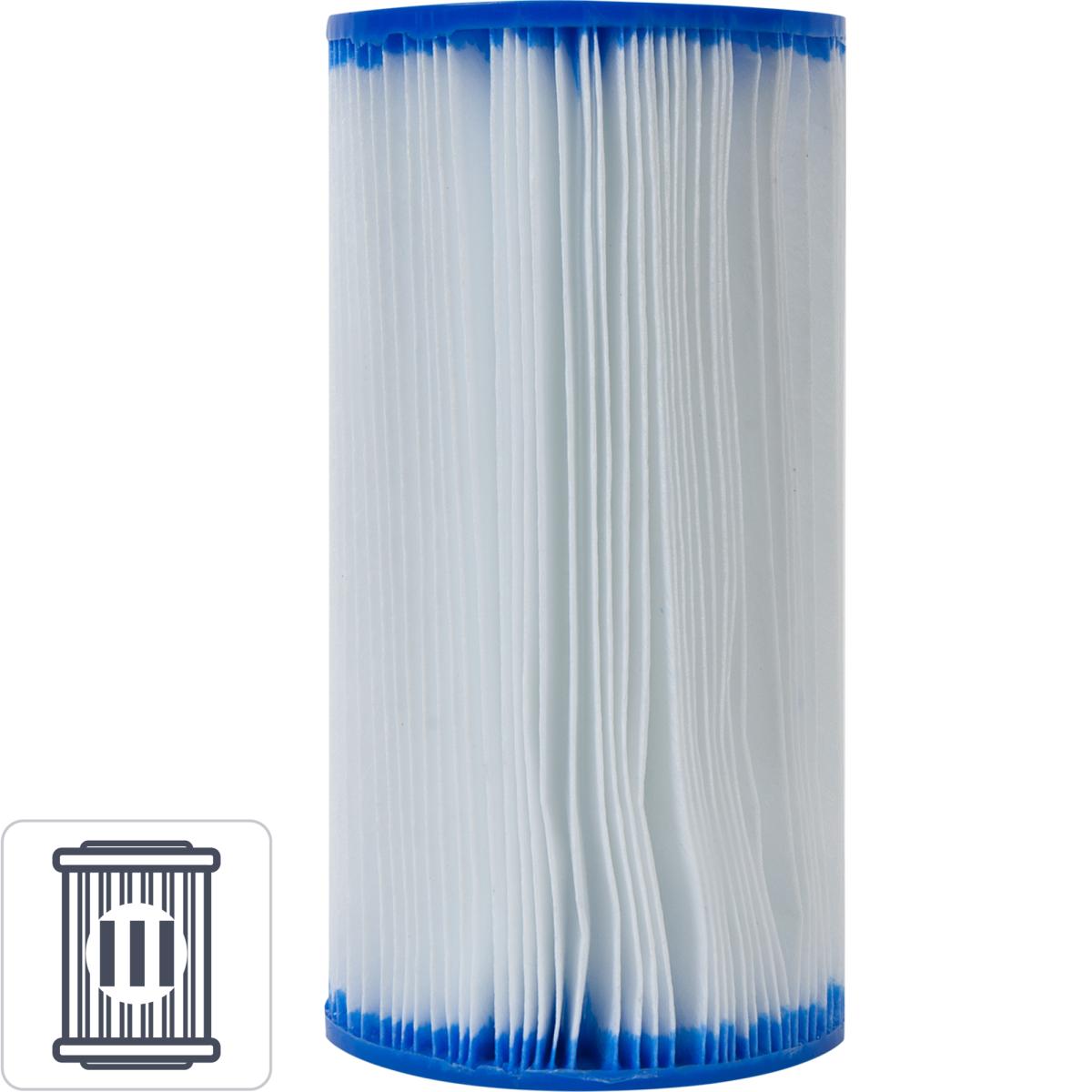 Картридж для фильтра-насоса для бассейна 10.6x20.3 см