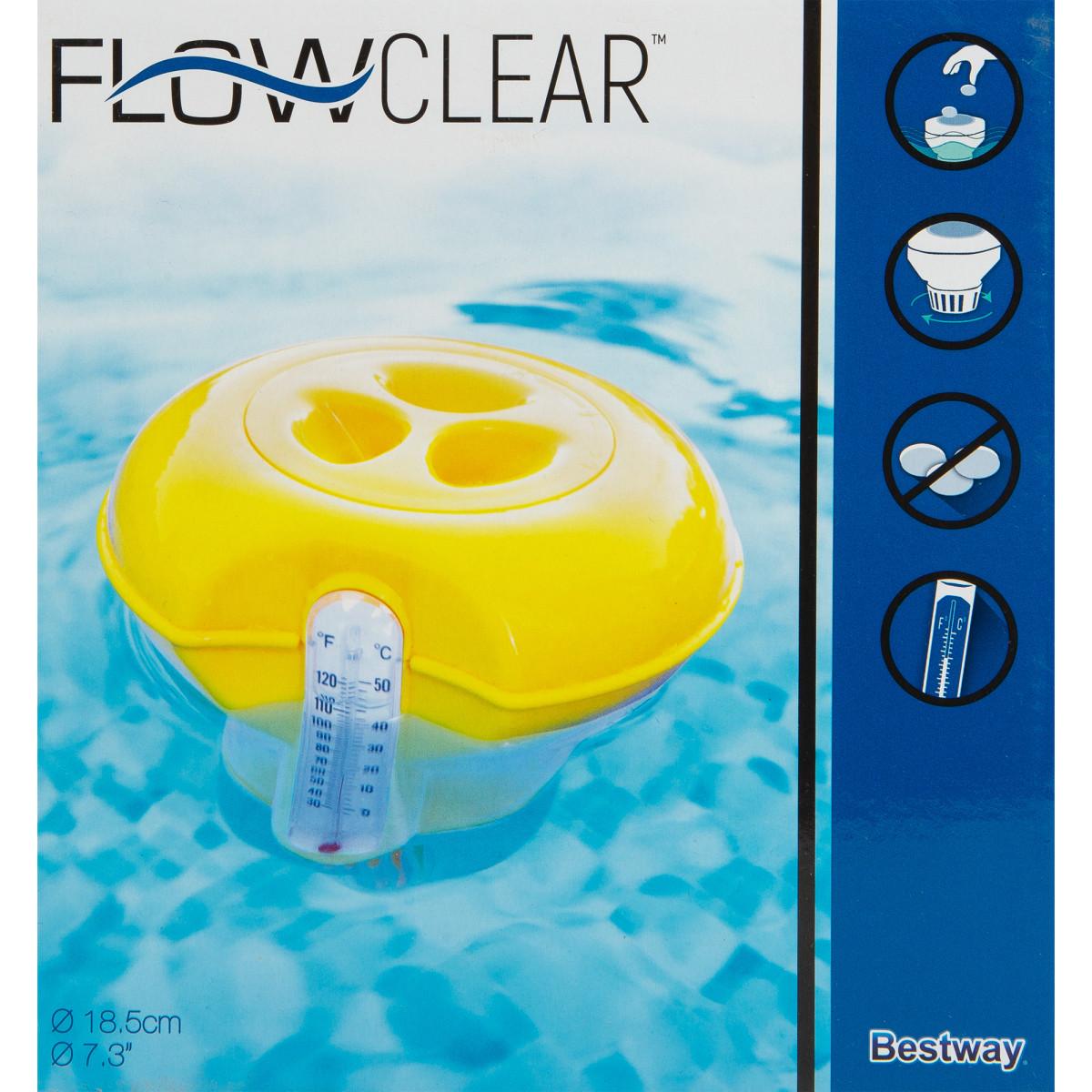 Дозатор плавающий с термометром