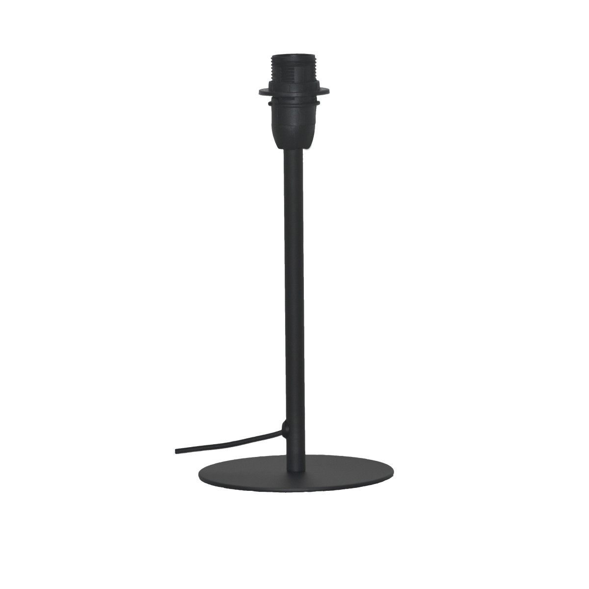 Основание для лампы Ceres 1 лампа E14 26 см цвет матовый черный
