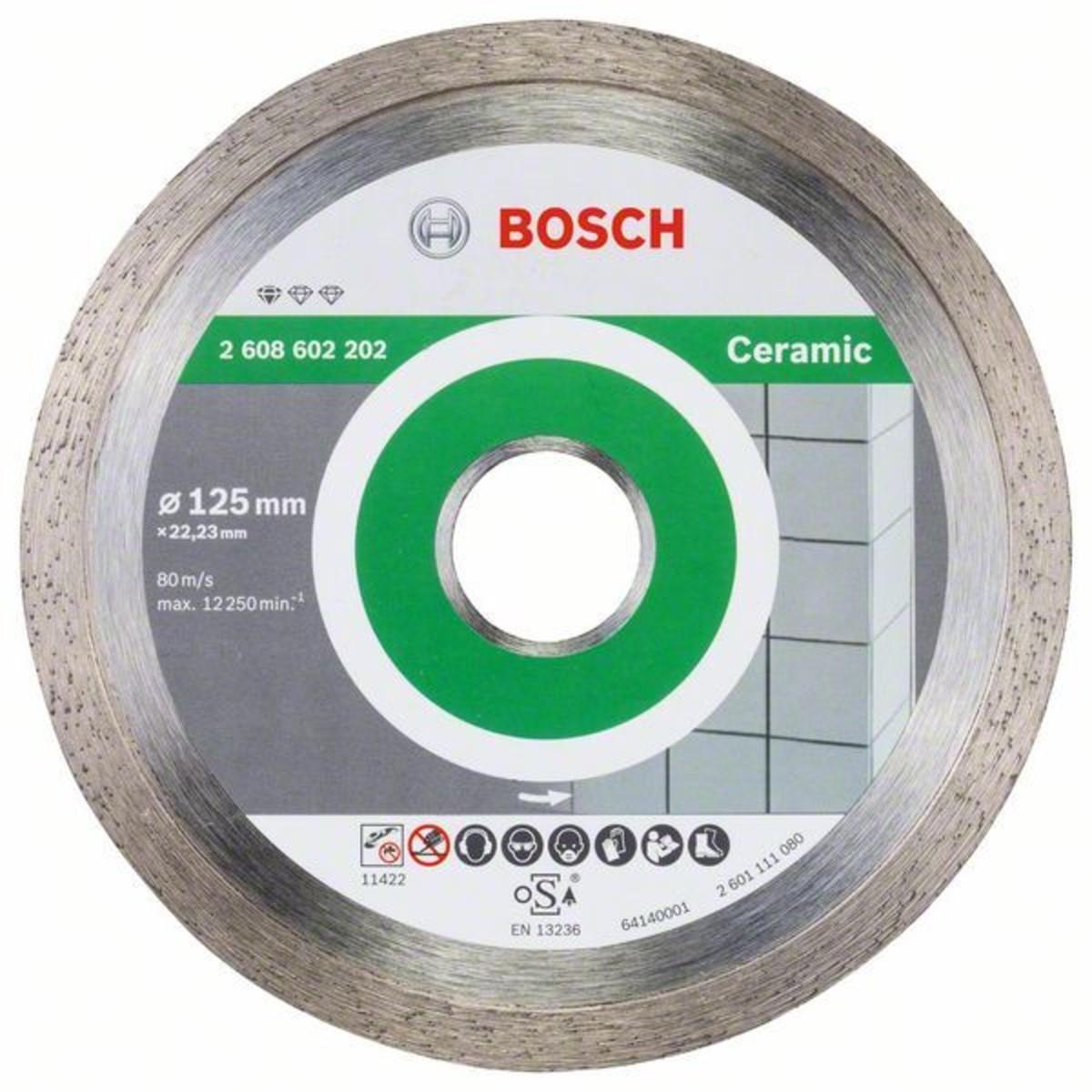 Диск Алмазный По Керамике Bosch Standart 125x2223