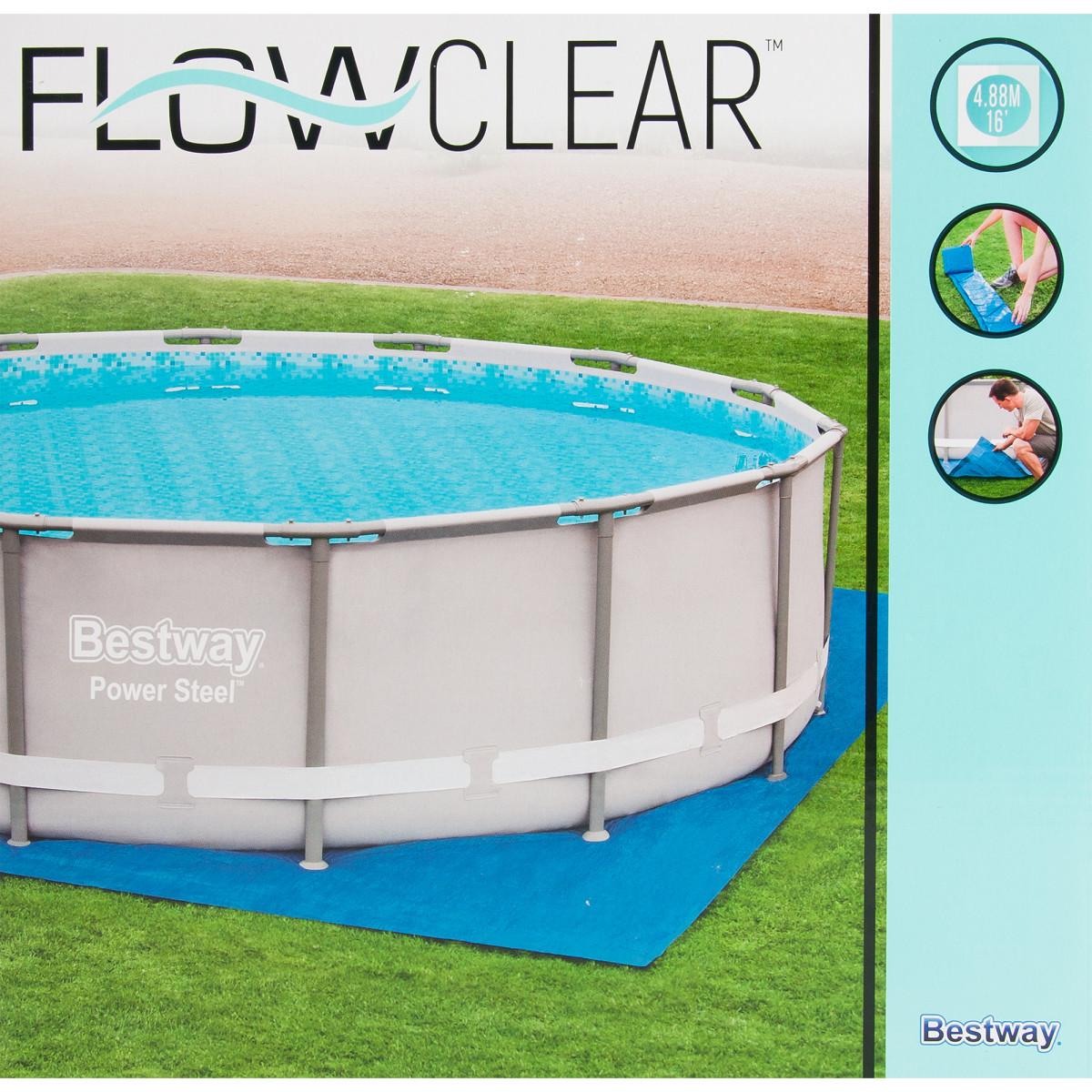 Подложка для бассейнов 488х488 см