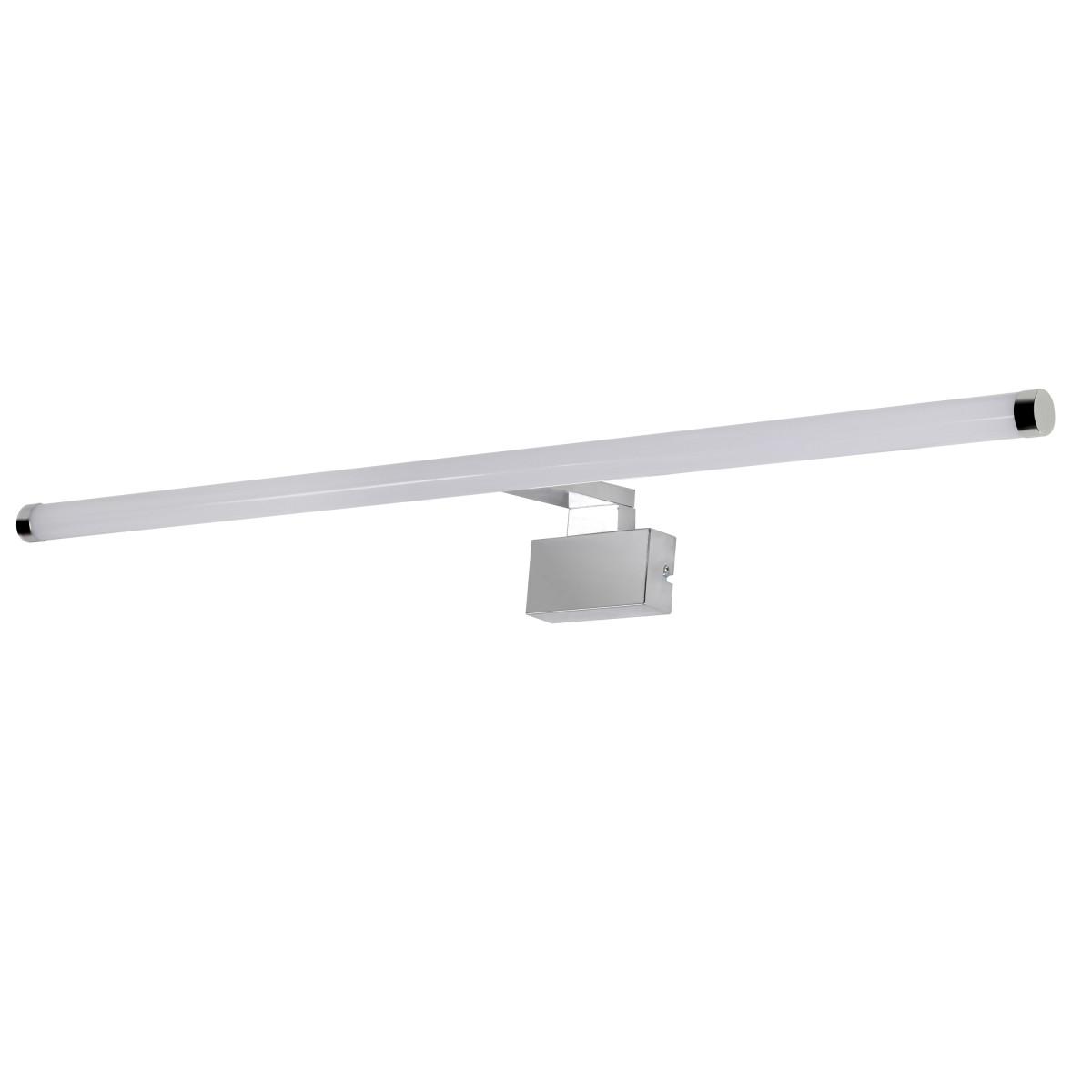 Светильник настенный светодиодный влагозащищенный Solar 80 см белый свет цвет хром