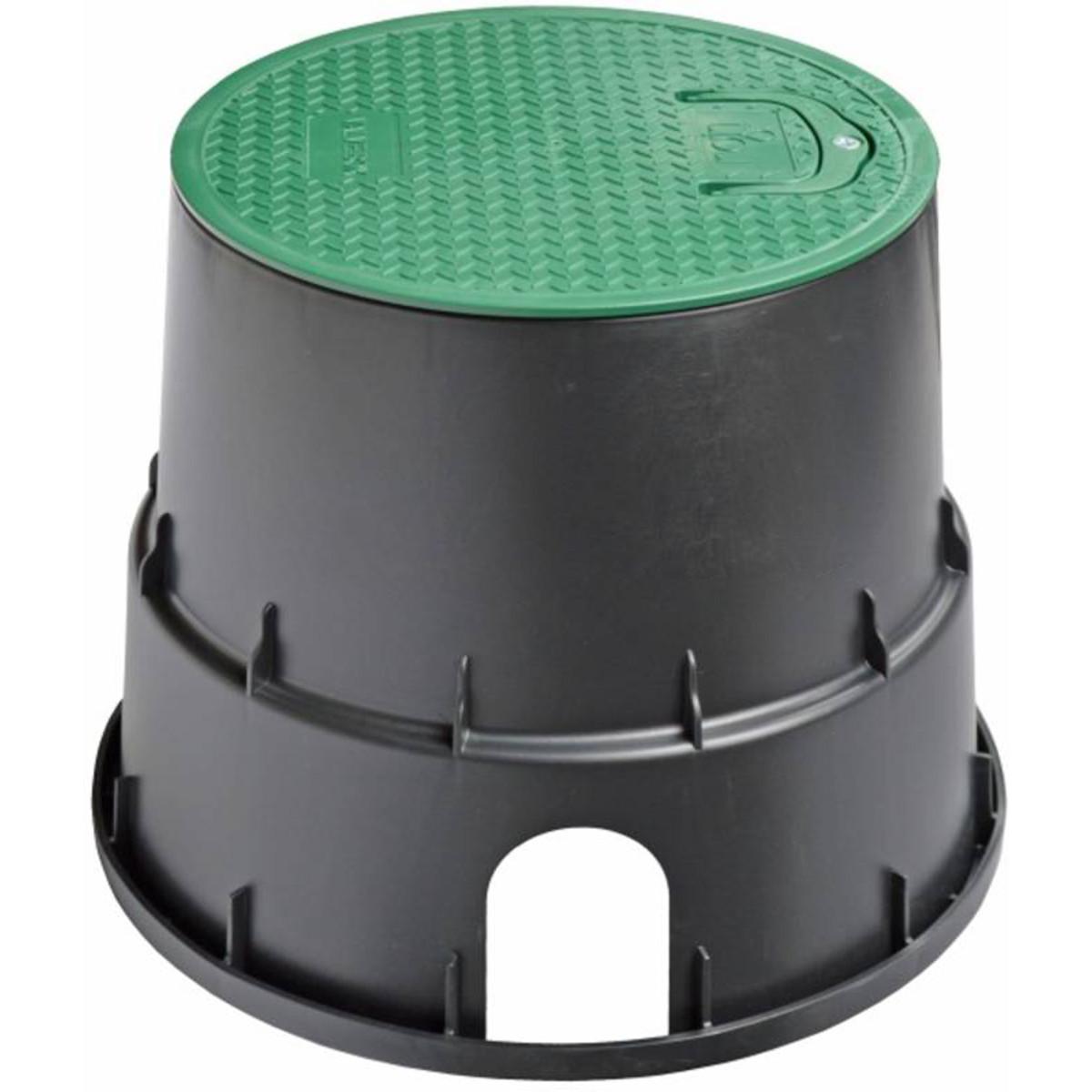 Коробка клапанная круглая