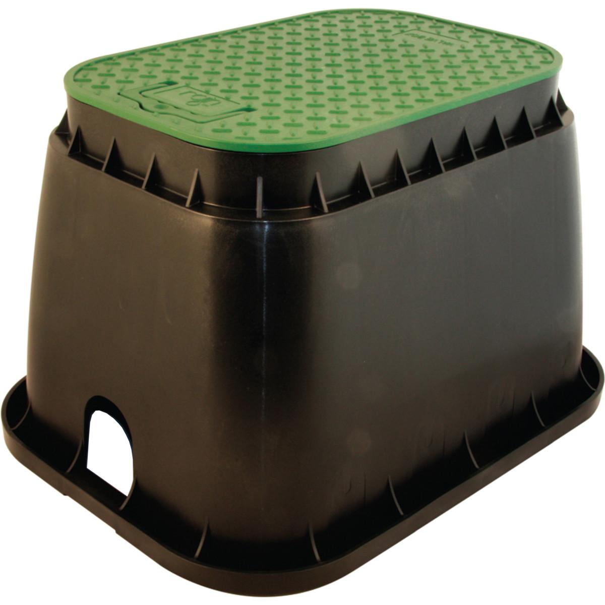 Коробка клапанная Standart прямоугольная