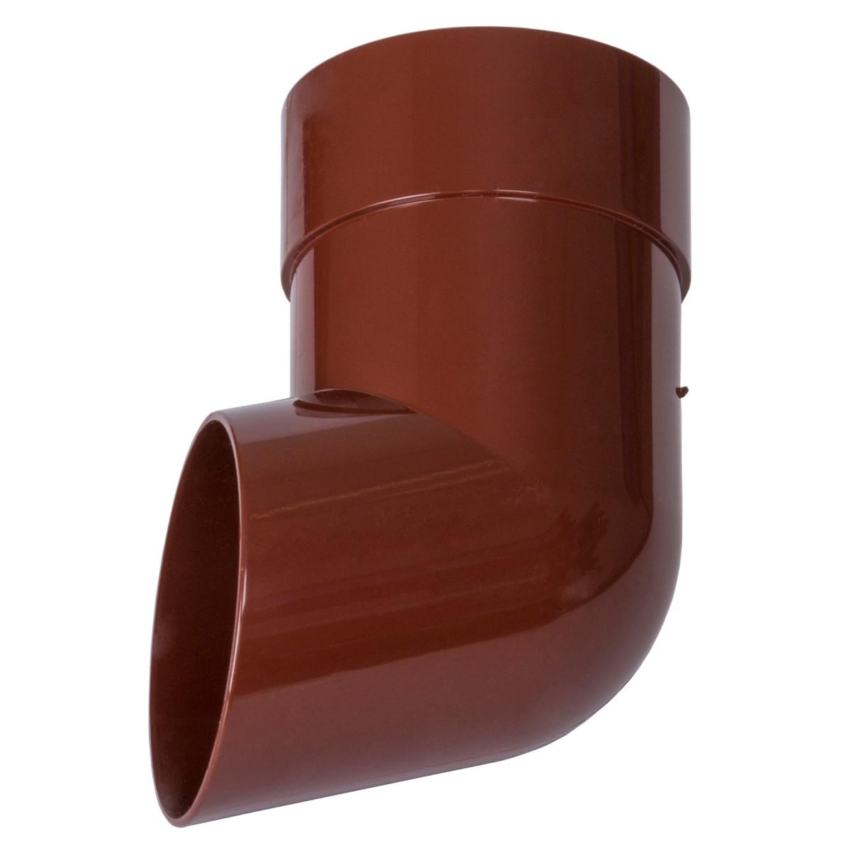 Слив трубы Dacha 80 мм красный