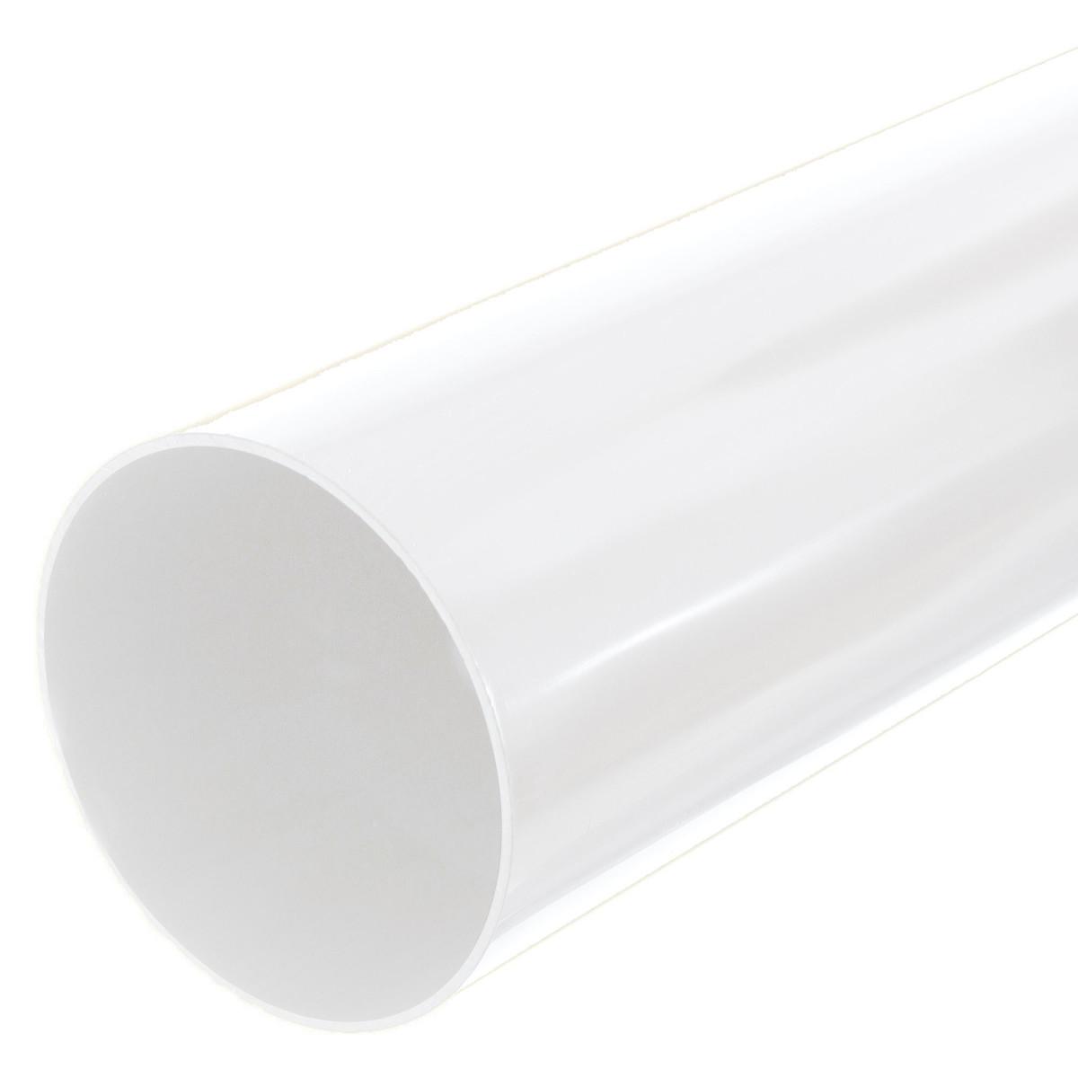 Труба водосточная Dacha 80 мм 3 м белый