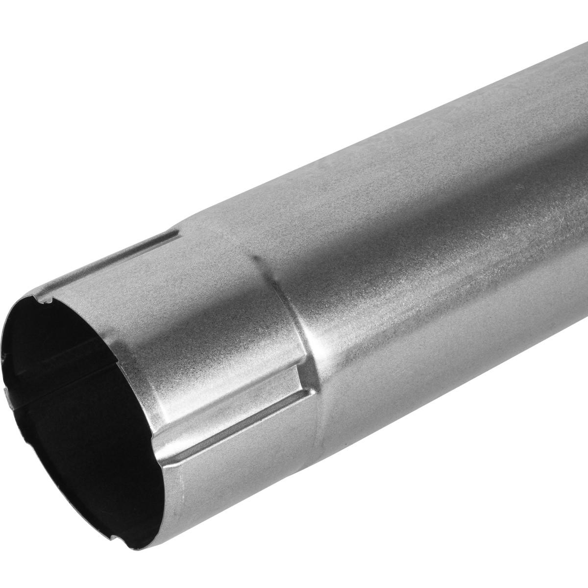 Труба соединительная D90 1000 мм оцинкованная