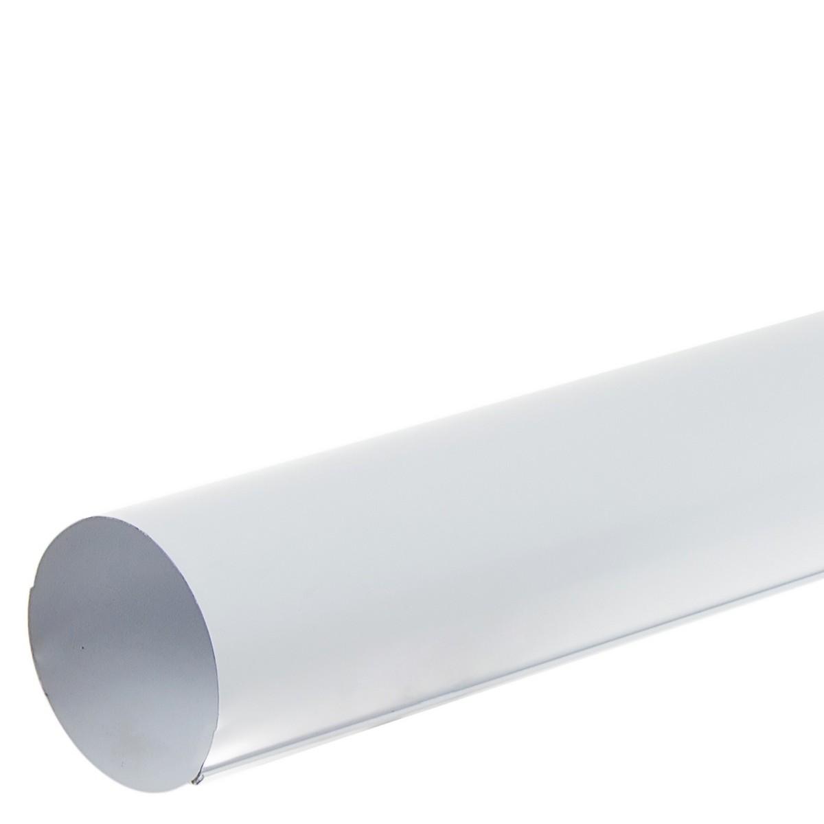 Труба водосточная 2000х90 мм цвет белый