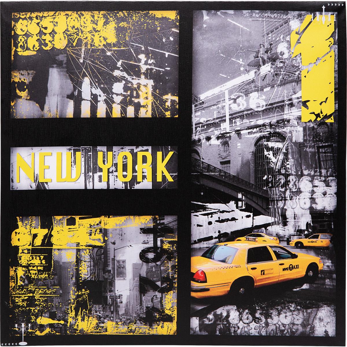 Картина на холсте «Нью-Йорк» 40х40 см