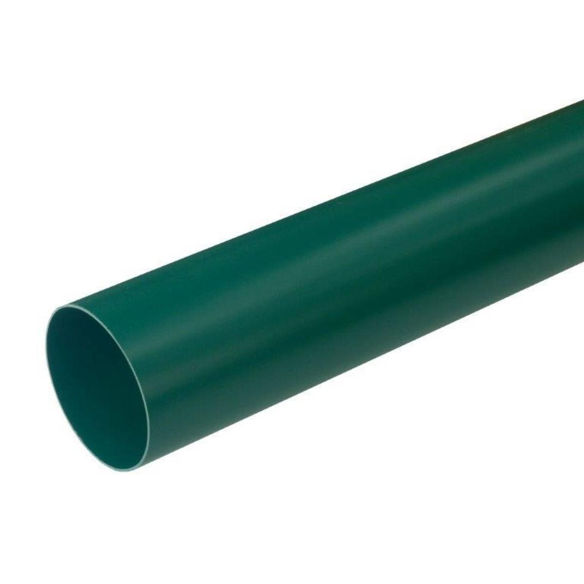 Труба водосточная 80х3000 мм цвет зеленый