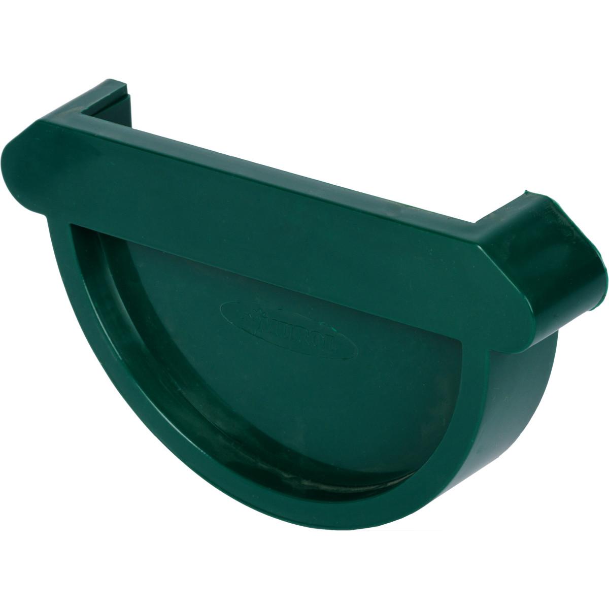 Заглушка желоба цвет зеленый