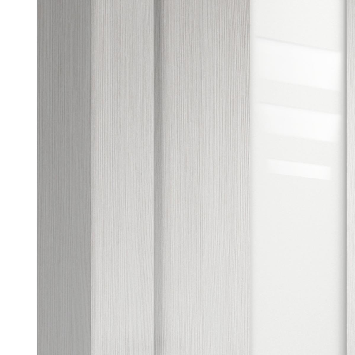Дверь Межкомнатная Остеклённая Фортуна 80x200 Пвх Цвет Белый Дуб