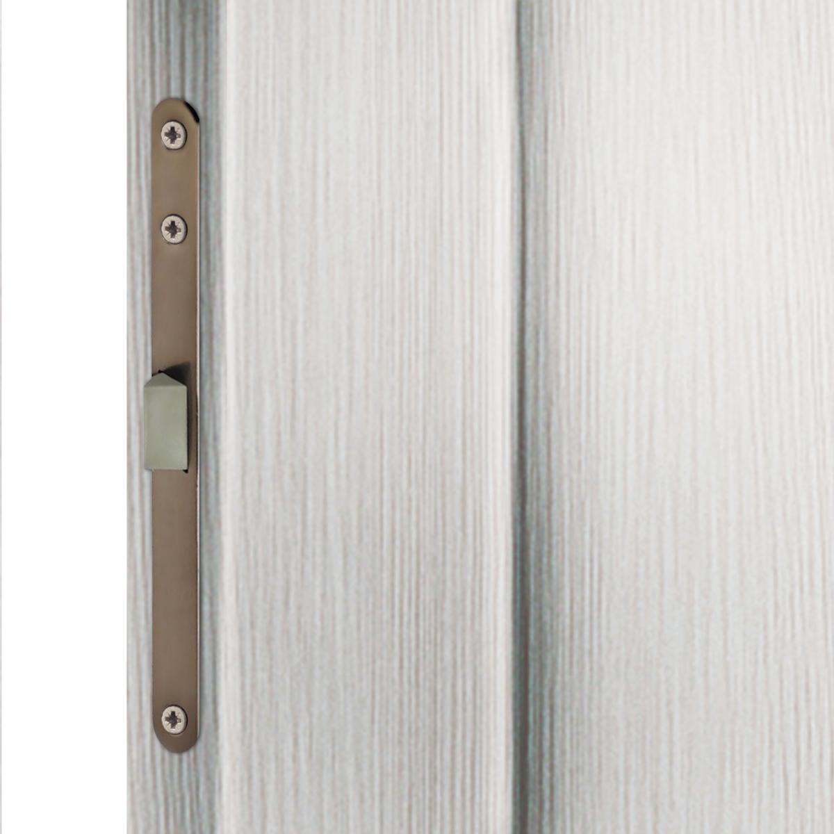 Дверь межкомнатная остеклённая Фортуна 90x200 см ПВХ цвет белый дуб