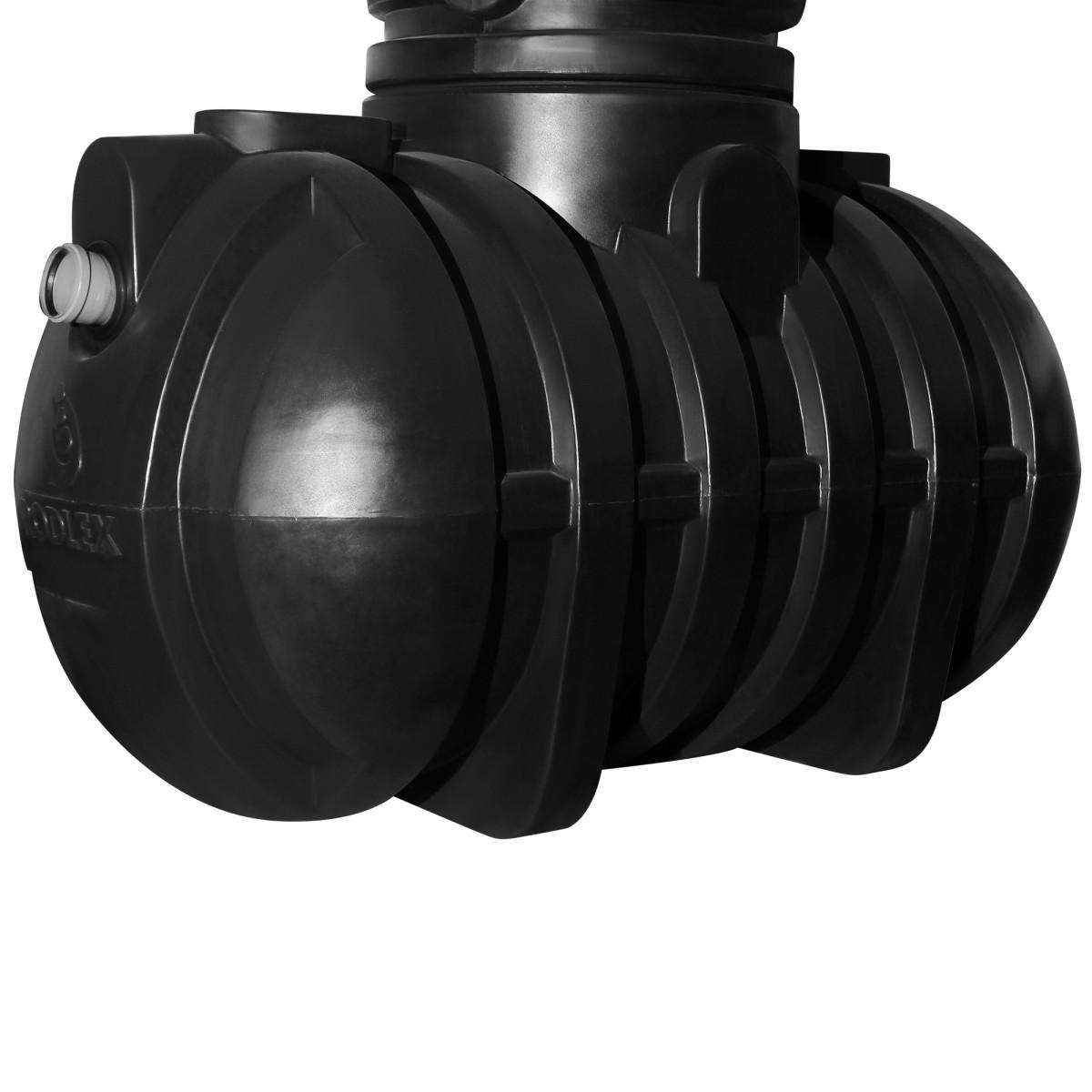 Септик двухкамерный 2000 литров для 2-3 человек 600 л/сутки