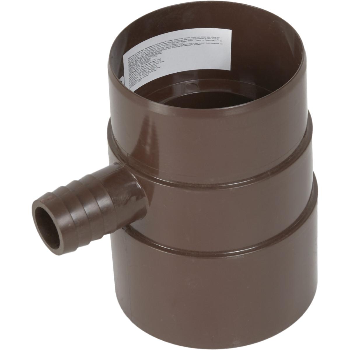 Verat отвод для сбора воды цвет коричневый
