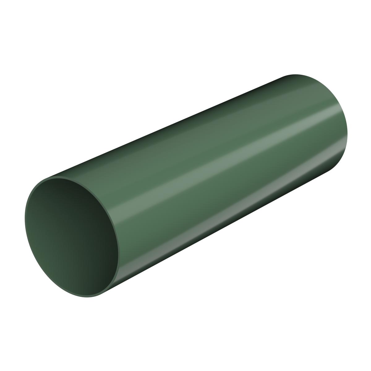 Verat труба 2 м цвет зеленый