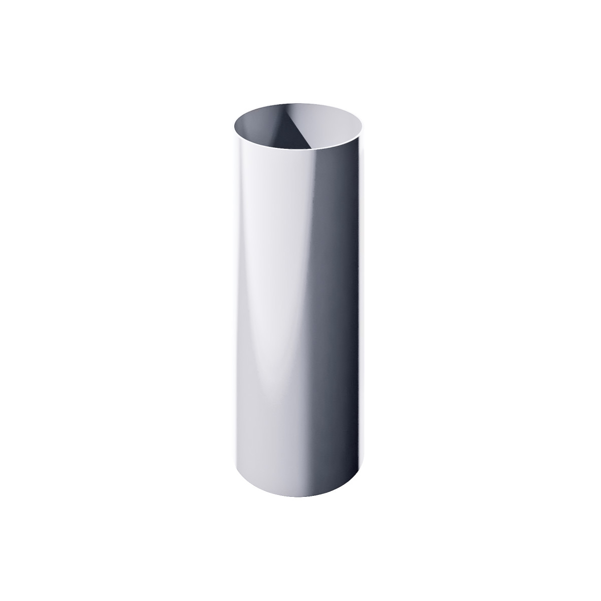Verat труба 1 м цвет белый