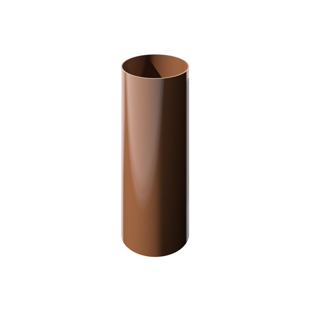 Verat труба 1 м цвет коричневый