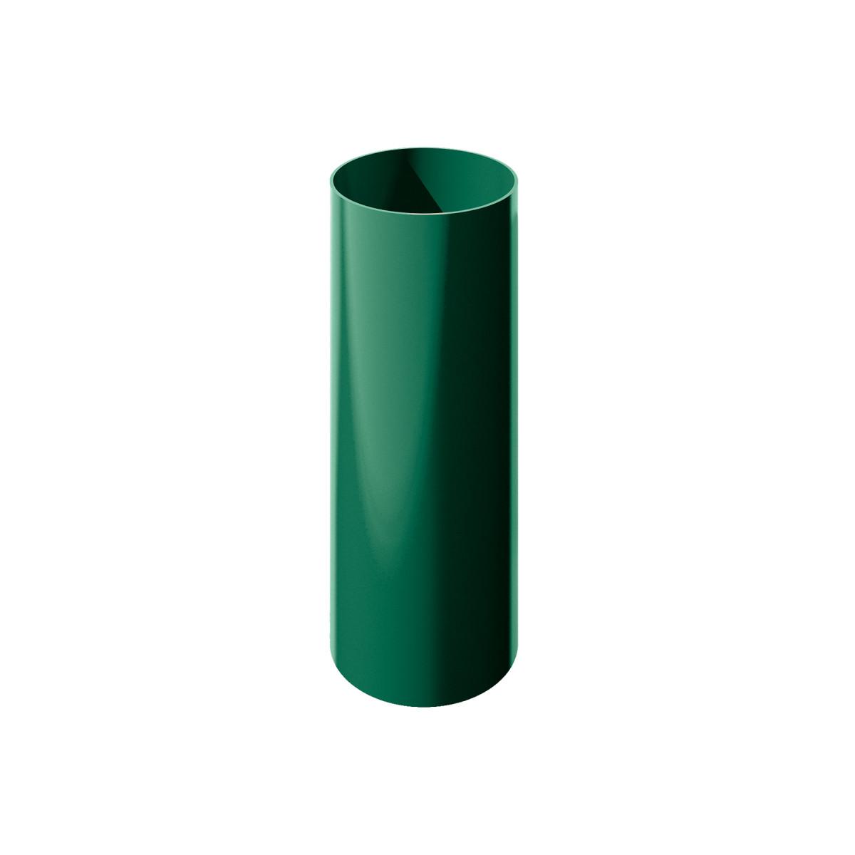 Verat труба 1 м цвет зеленый