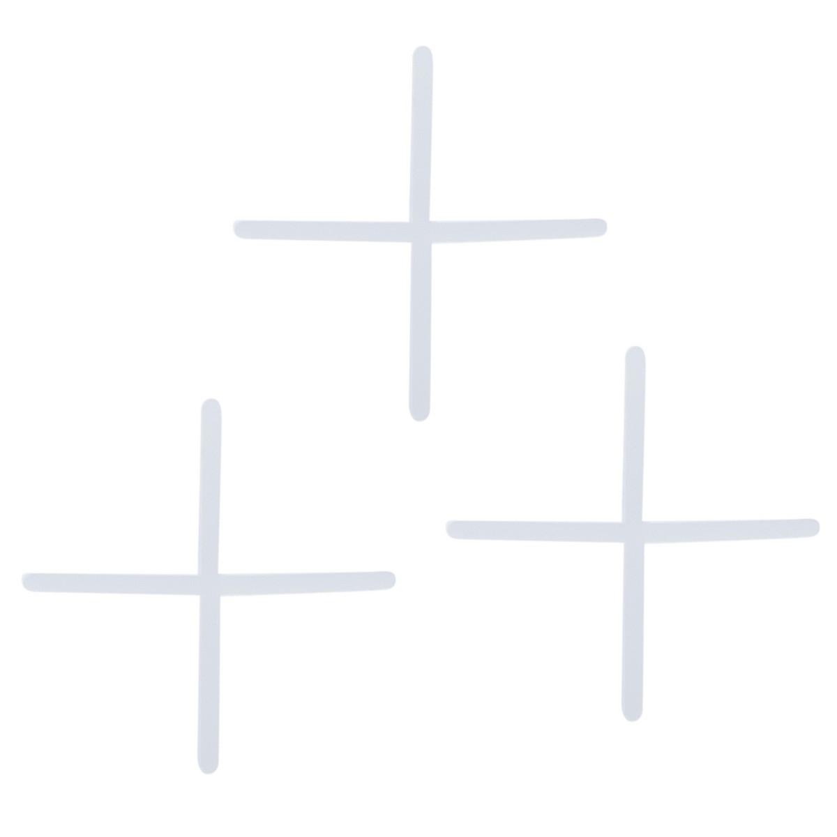 Крестики для кафельной плитки 1 мм 100 шт.