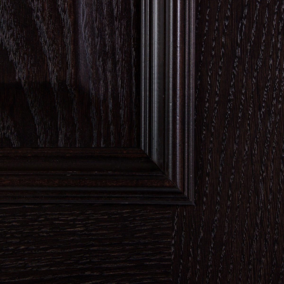 Дверь Межкомнатная Глухая Шпон Вельми 80x200 Цвет Венге