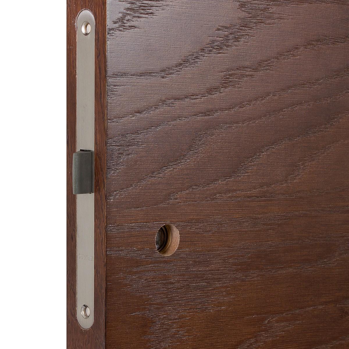Дверь Межкомнатная Глухая Шпон Антик 60x200 Цвет Дуб Антик