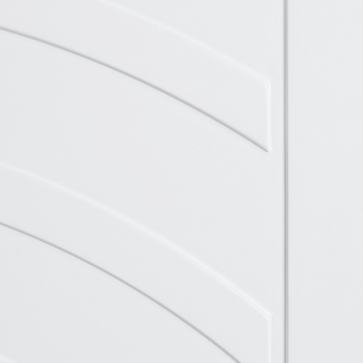 Дверь Межкомнатная Глухая Галактика 60x200 Цвет Белый