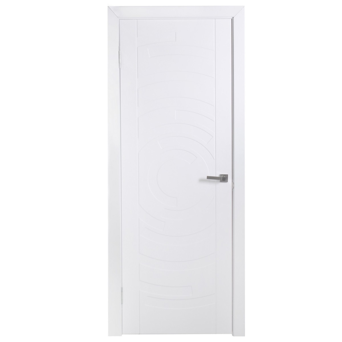Дверь Межкомнатная Глухая Галактика 70x200 Цвет Белый