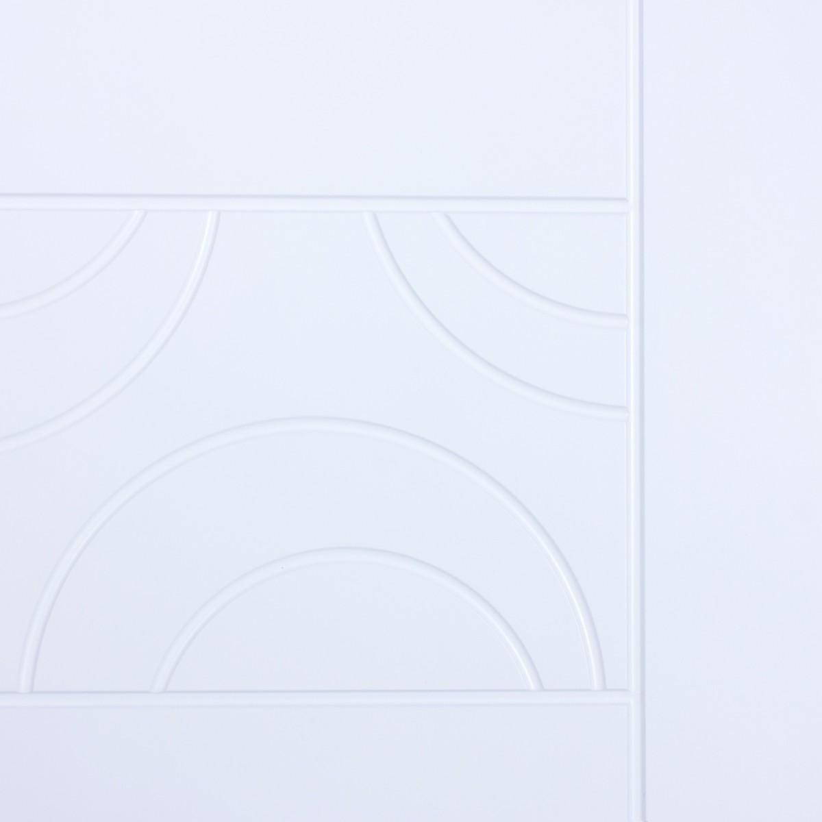 Дверь Межкомнатная Глухая Аликанте 60x200 Цвет Белый