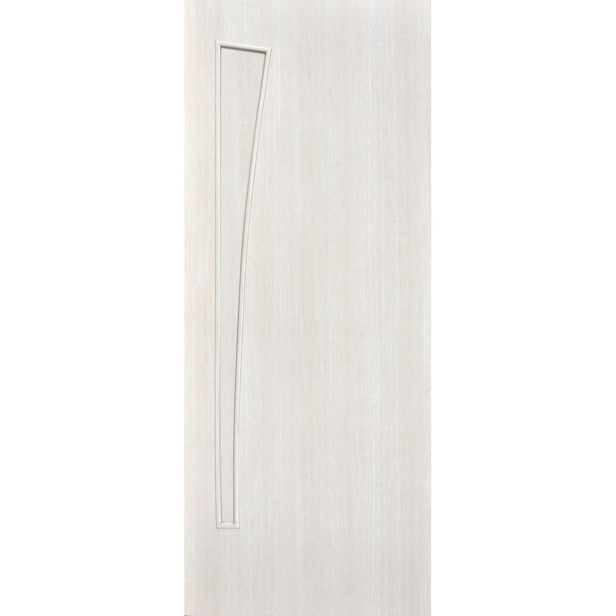 Дверь Межкомнатная Глухая Ламинированная Белеза 70x200 Цвет Белый Дуб