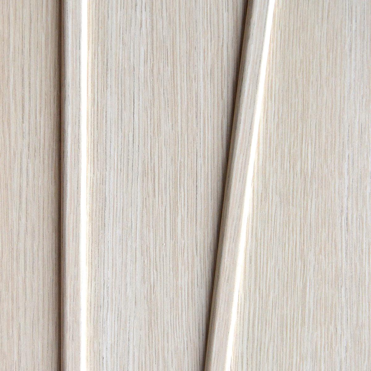 Дверь Межкомнатная Глухая Ламинированная Белеза 80x200 Цвет Белый Дуб
