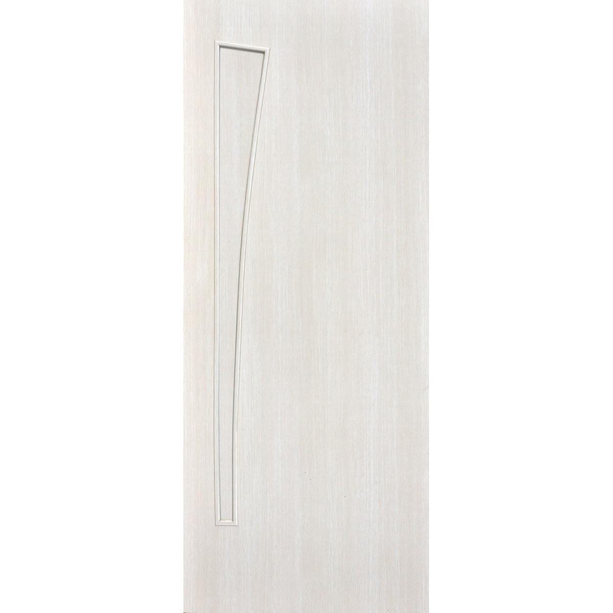 Дверь Межкомнатная Глухая Ламинированная Белеза 90x200 Цвет Белый Дуб