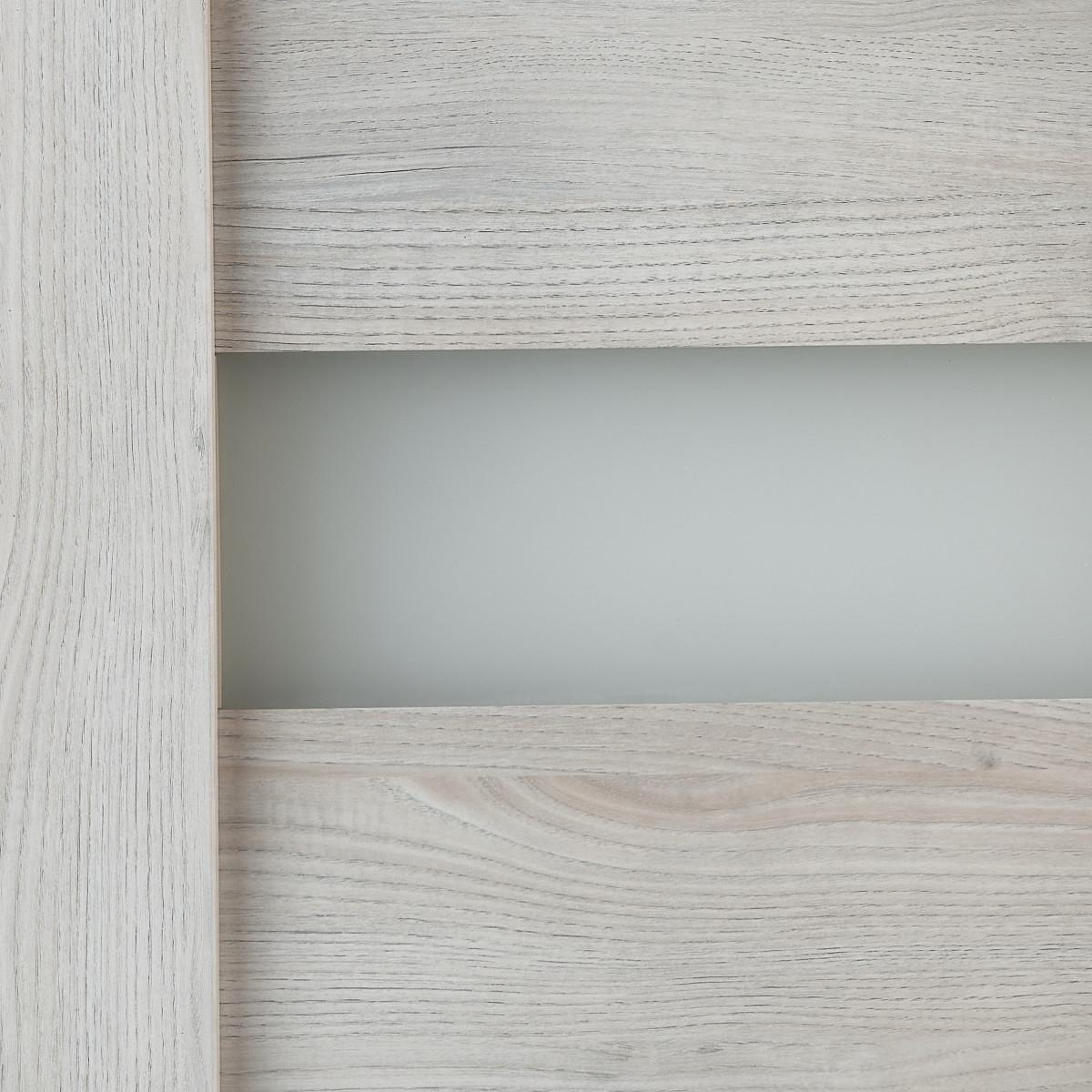 Дверь Межкомнатная Остеклённая Лайн 70x200 Цвет Дуб Бриг