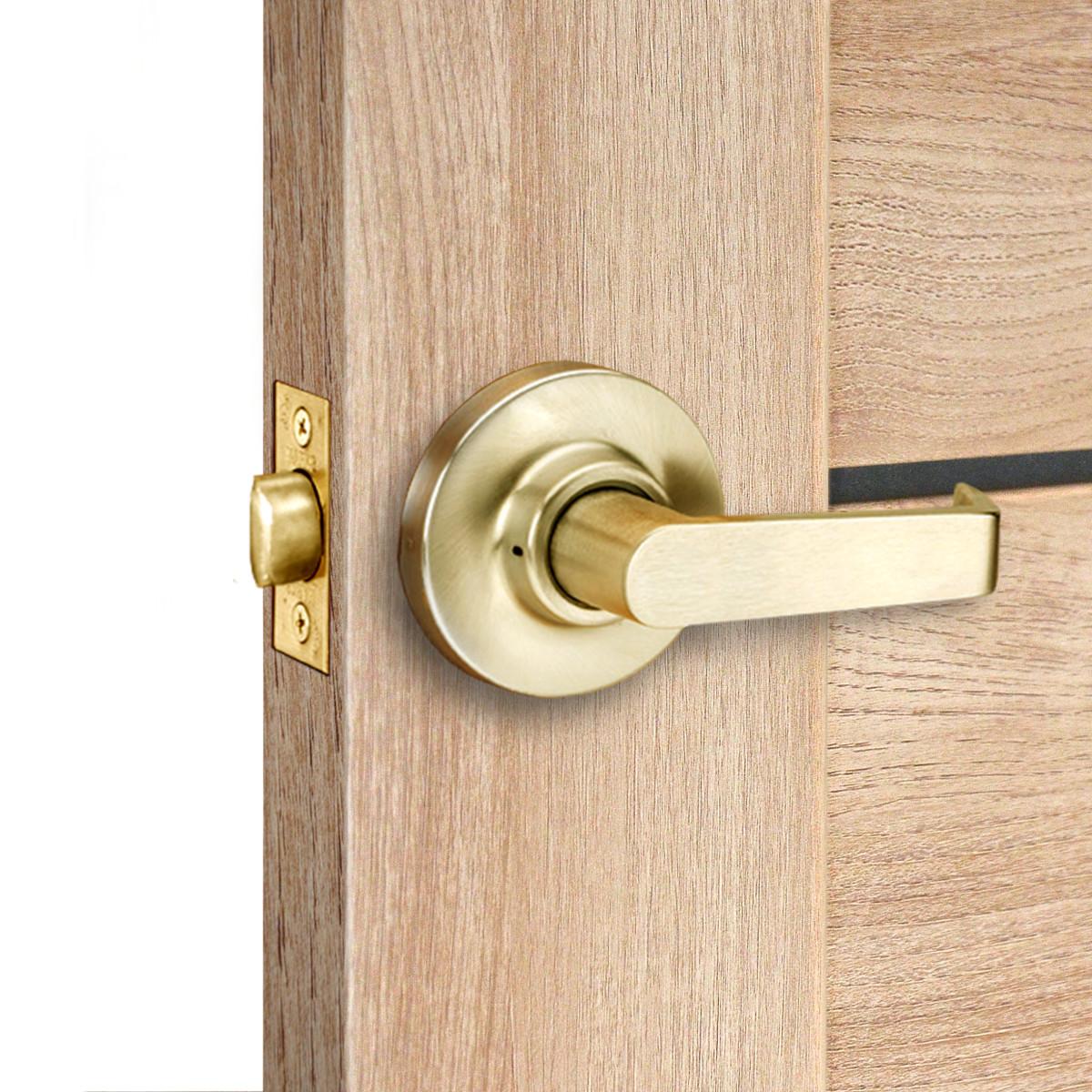Дверь Межкомнатная Лайн 60x200 Цвет Дуб Глостер