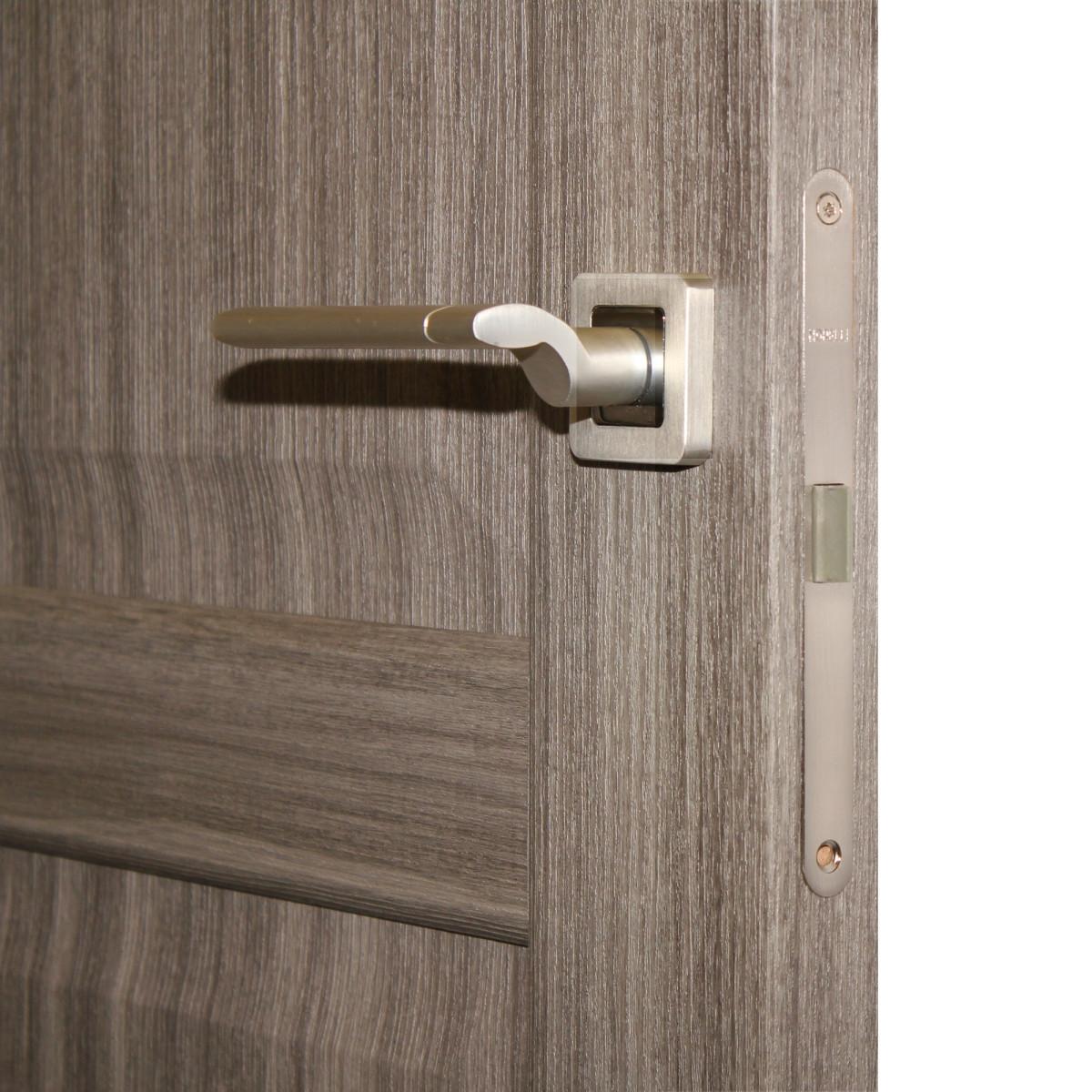 Дверь Межкомнатная Глухая Artens Мария 60x200 Цвет Серый Дуб