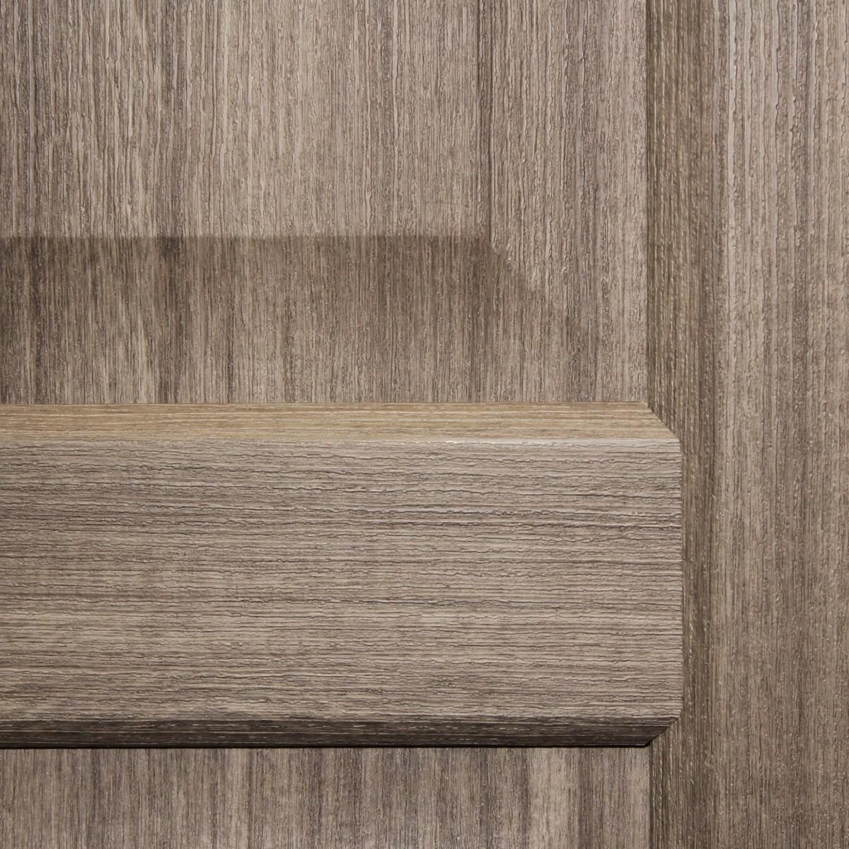 Дверь Межкомнатная Глухая Artens Мария 80x200 Цвет Серый Дуб