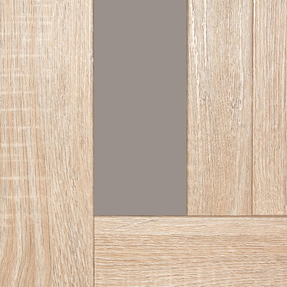 Дверь Межкомнатная Глухая Artens Леона 60x200 Цвет Натуральный Дуб