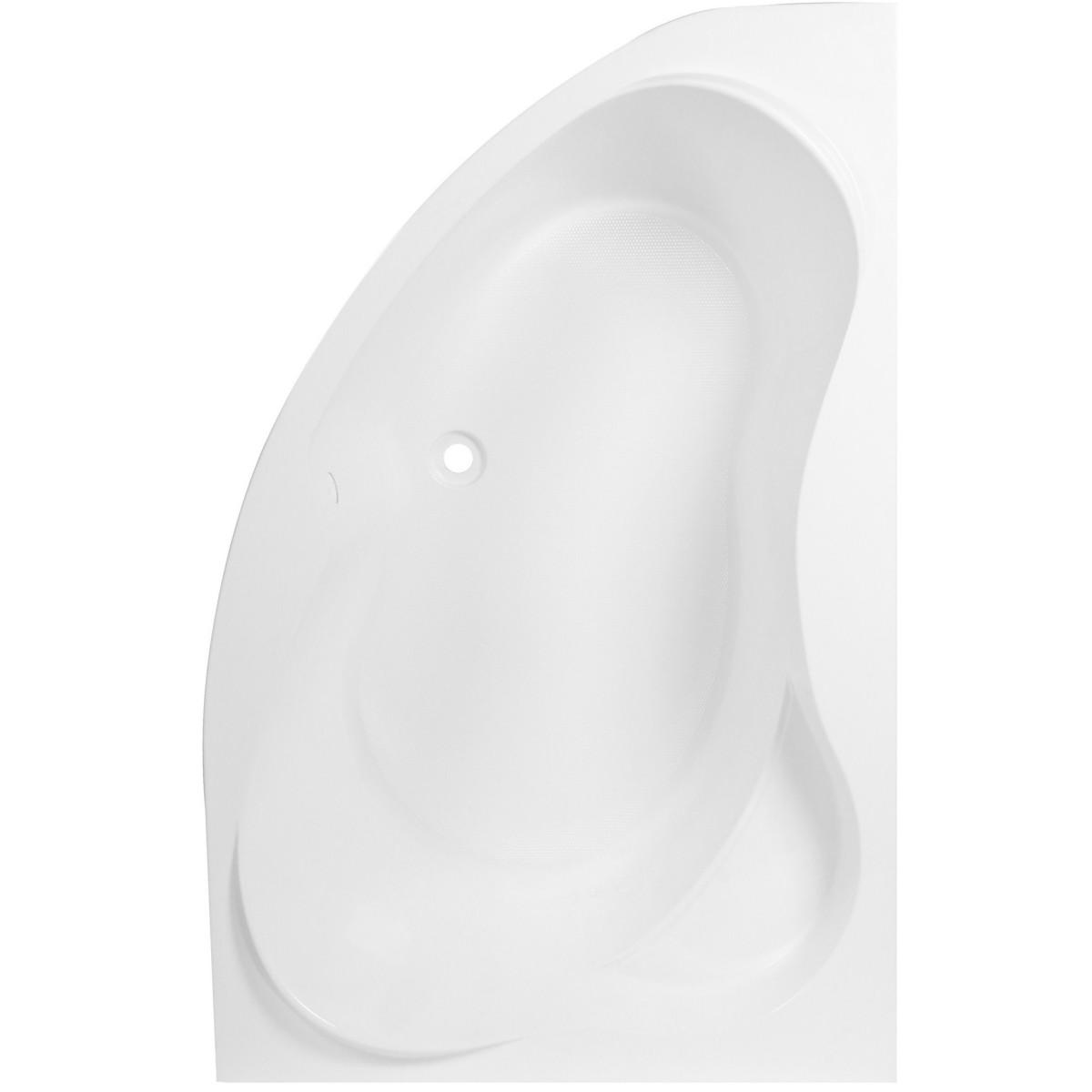 Ванна правостороняя Глоу акрил 170х110 см