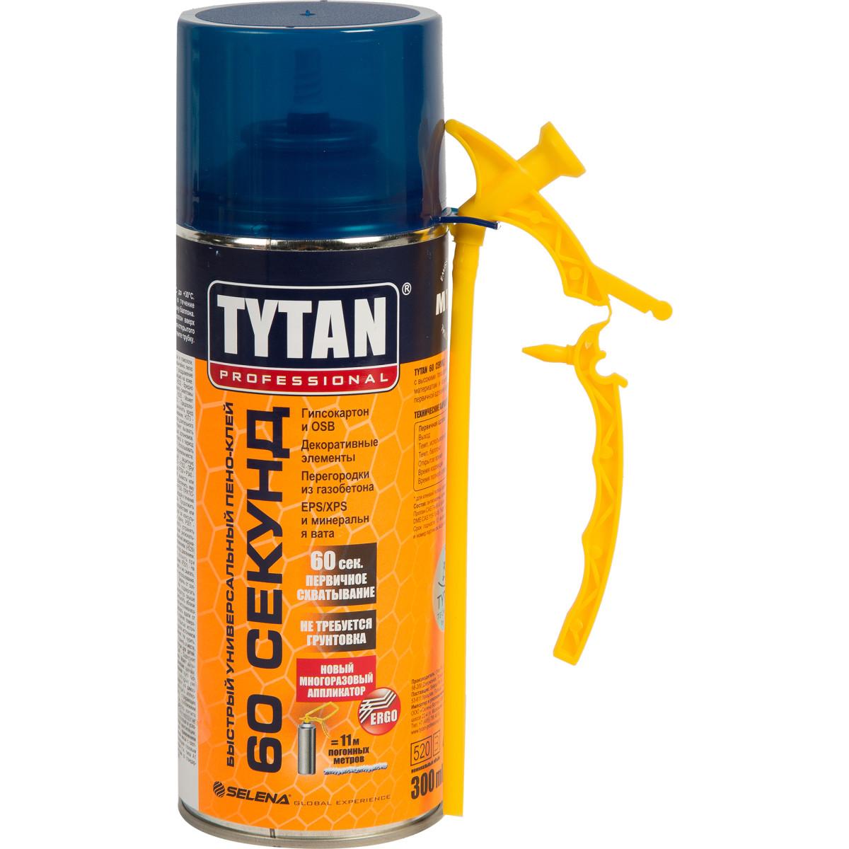 Клей-пена Tytan 60 секунд 300 мл