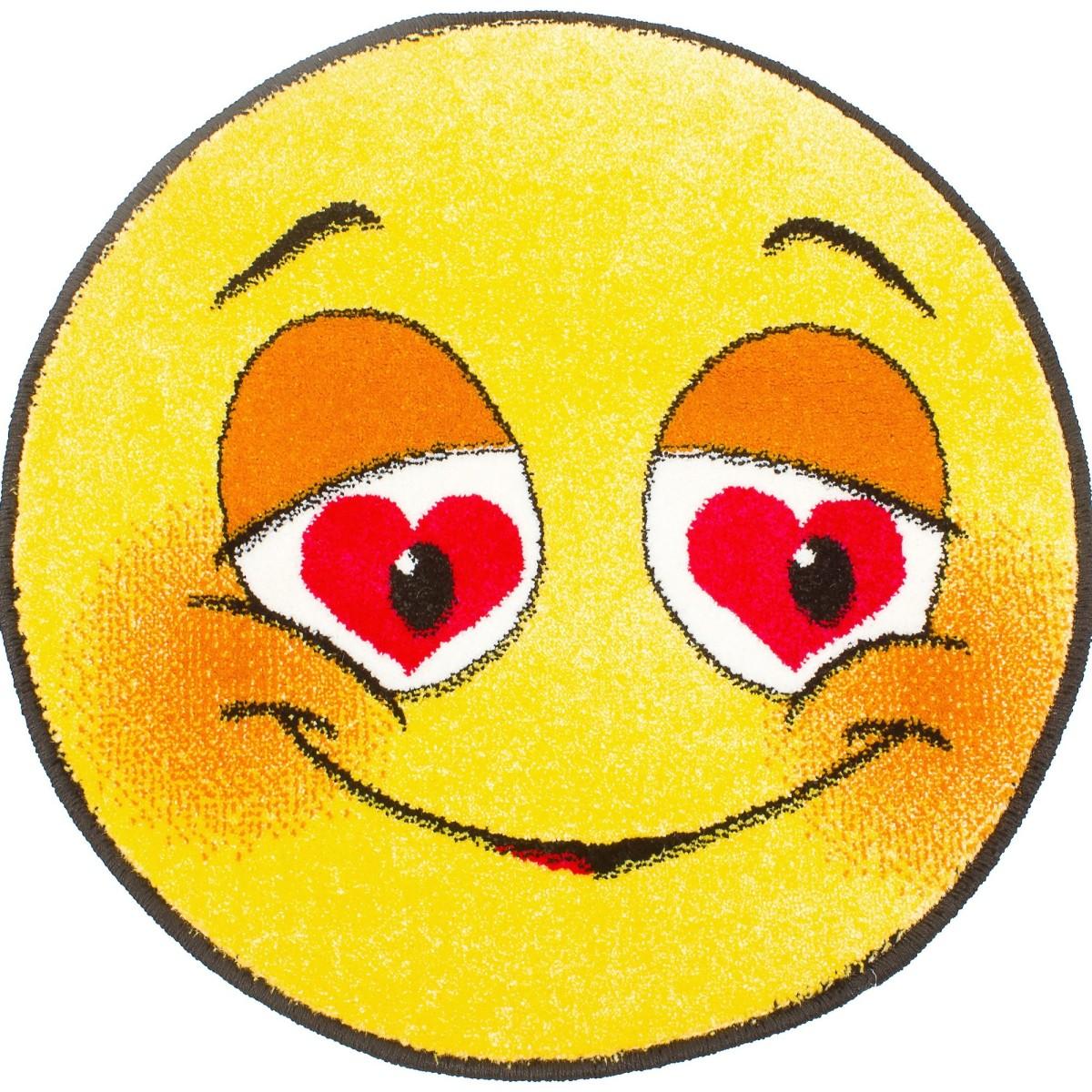 Ковер  Smiles диаметр 067 м полипропилен