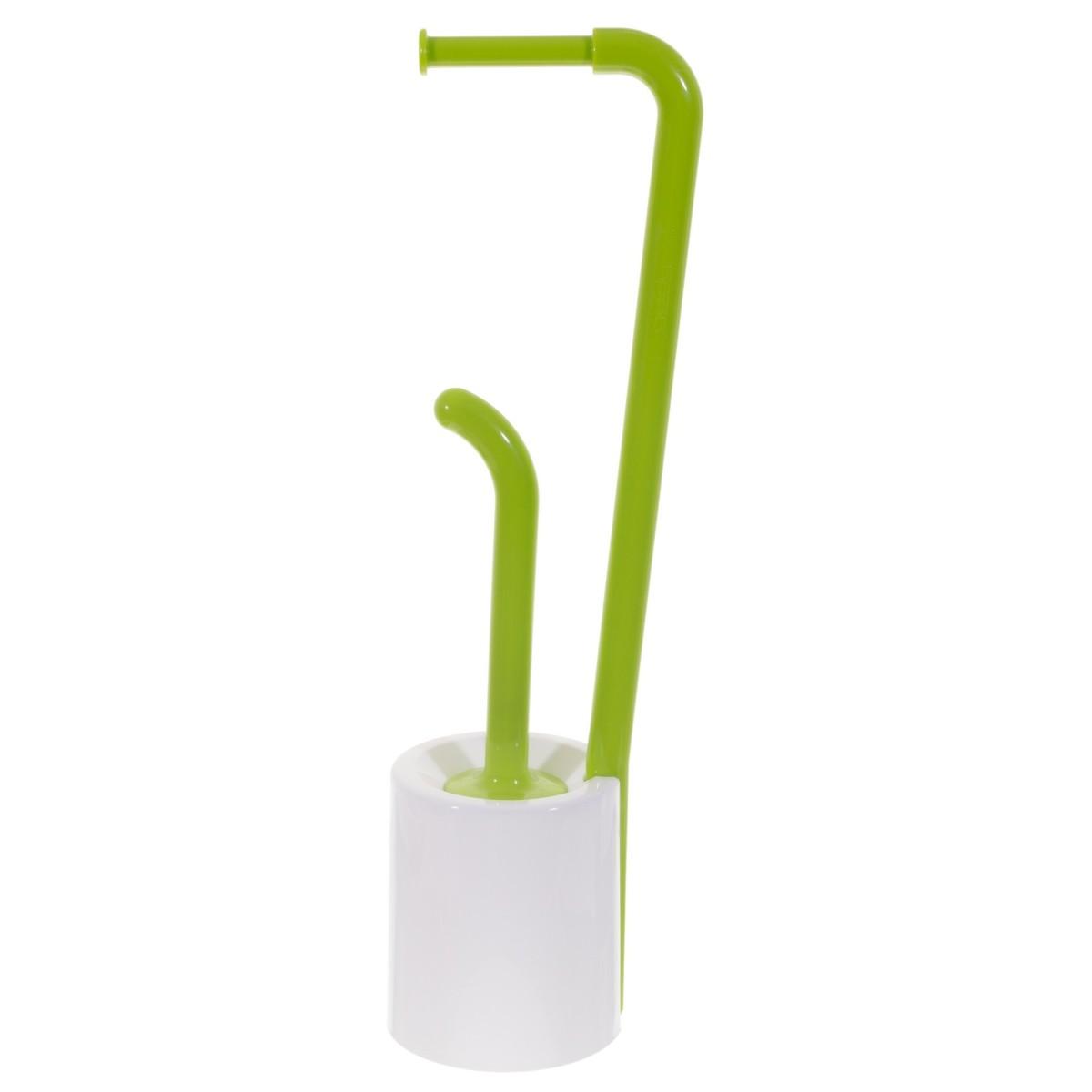 Стойка для ванной комнаты напольная цвет зеленый
