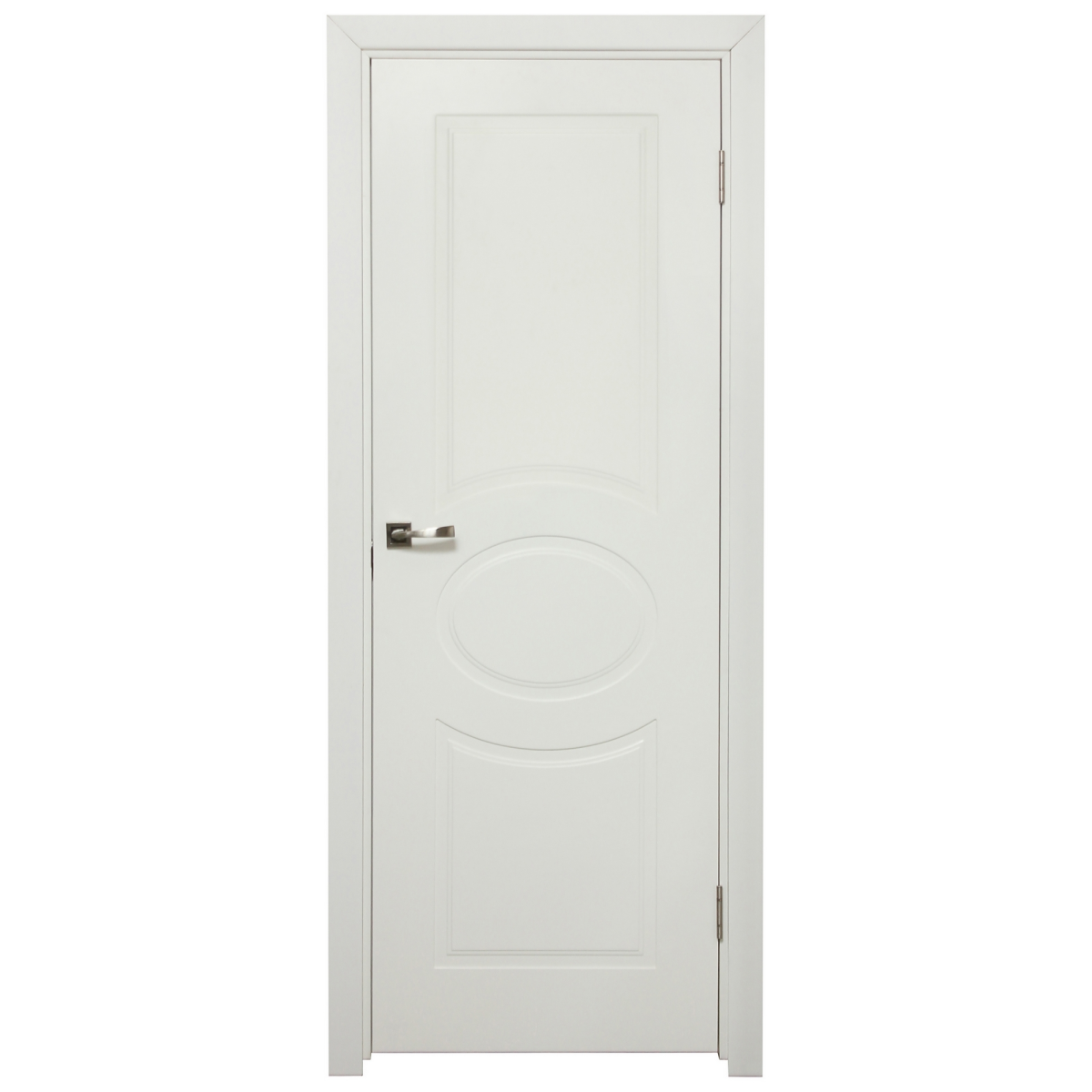 Дверь Межкомнатная Глухая Дэлия 60x200 Цвет Белый